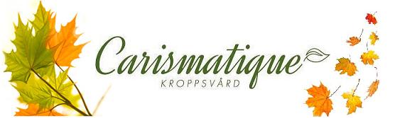 Carismatique Kroppsvård i Östersund AB Pastorsgatan 3 83135 Östersund Mobil 070-260 15 68